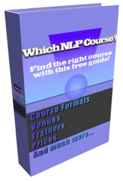 Free Guide to Choosing NLP Training and NLP Courses